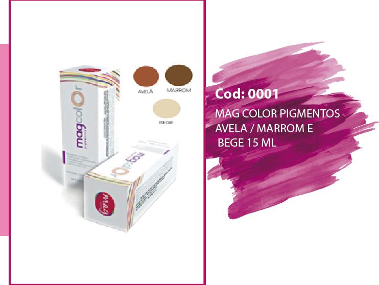 mag colors pigmentos